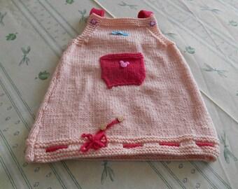 Pink dress 12 months