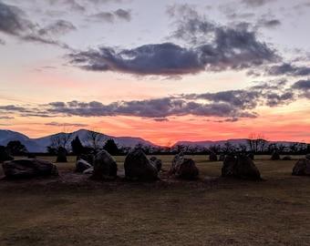 Castlerigg at Sunset