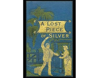 Canvas Art Print - A Lost Piece of Silver