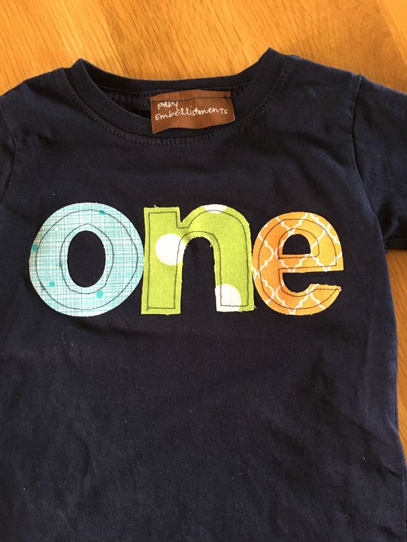 One birthday shirt navy lime green teal orange, 1st birthday shirt, boys first birthday shirt, circus birthday colors , boys clothes, baby