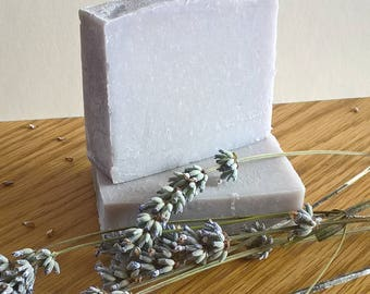 Lovely Lavender Goats Milk Soap Handmade in Scotland - SLS Free - Paraben Free
