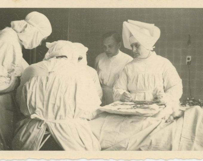 Vintage Snapshot Photo: Surgery [83657]