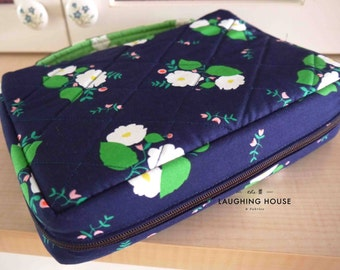 Bible/Journal Cover w Zipper & Spine Handle (Your Choice of Fabric)