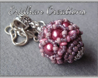 "Beaded bead - ""Ribbon"" - tutorial"