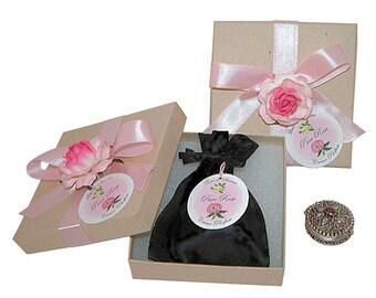 Pure Rose Crème Parfum - Sterling Silver Case