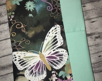 Planner cover-Happy planner cover- Fabric cover