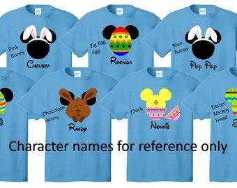 EASTER SET Disney Vacation Disney Group Shirts Disney Matching Shirts Disney Personalized Shirts Disney Family Shirts