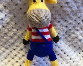 Crochet Giraffe ,giraffe amigurumi ,giraffe stuffed animal toy