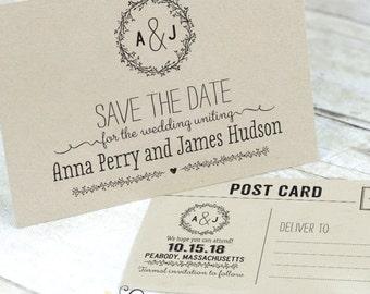 Printable Postcard Save The Date