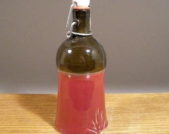 Maple Syrup Bottle , Pottery Water Bottle , Liquor Bottle , Ceramic Flask , by Jon Whitney Pottery