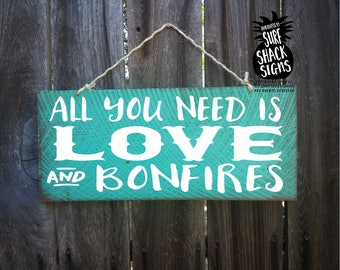 bonfire, bonfire sign, bonfire signs, bonfire decor, welcome to our bonfire
