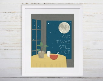 Where the Wild Things Are Nursery Printable, And it Was Still Hot