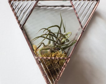 Triangle Wall-Hanging Planter