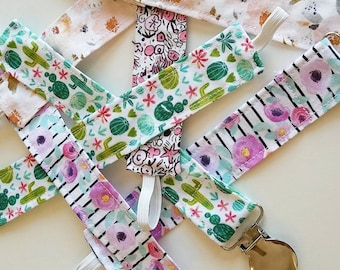 Wholesale Pacifier Clips - Set of 10 - Universal Clip for Dummy/Pacifier/Soothie - Pacifier Clips - Dummy Clips - Binkie Clip - Baby Gift
