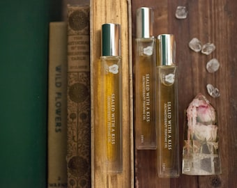 SEALED WITH A KISS - Aromatherapy Perfume Oil