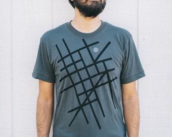 Road Trip Shirt, Clothing Gift for Traveler, BlackbirdSupply Sale, Wanderlust Adventure Shirt, You Are Here Tshirt Men - ONLY 1 LEFT