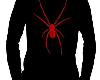 Red Spider / Black Widow Men's Long Sleeve T-Shirt