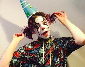 Merry-Go Round Clown Fetish Hat
