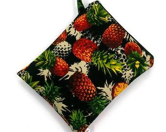 SALE 20% OFF Pineapple Wet bag, swim suit bag, Bikini bag, Diaper bag, wet Bathing suit bag, wet dry bag, Travel bag, Gift