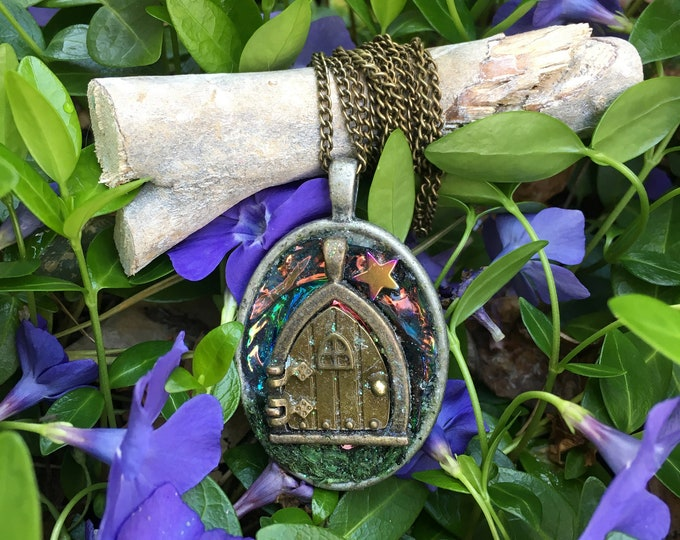 Magical Fairy Door Necklace