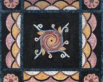 Geometric Mosaic Square - Jaci