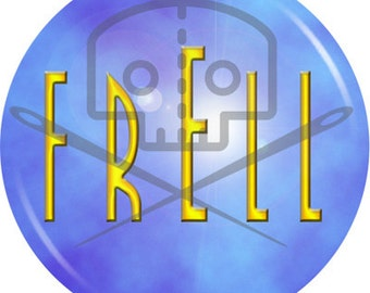 Farscape - Inspired FRELL button