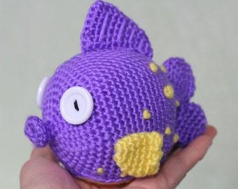 PATTERN: Squeakers Amigurumi Doll