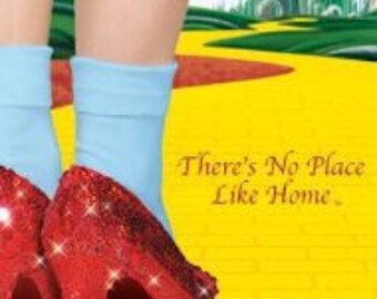 """Wizard of Oz - """"There's No Place Like Home"""" - 24x36"""" Poster"""