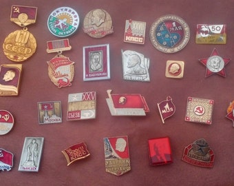 25 Pins -  Badges