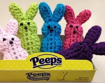 Crochet Easter Box O'Peeps