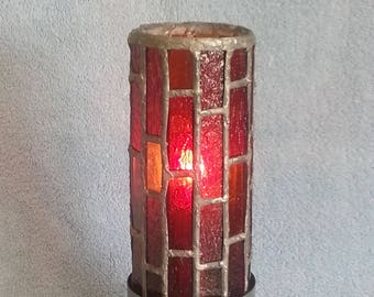 Stained Glass Lamp - Accent Lamp - Up Lamp