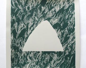 Forest Berg / silkscreen print