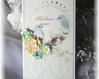 Greeting card - birds