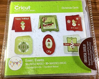 Cricut Cartridge - Christmas Cards, Factory Sealed