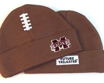 Mississippi State Bulldogs Baby Football Cap