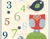 Nursery Numbers, Boys Roo...