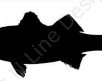 Fishing, Rocktober, Rockfish, Striped Bass, Kayak, Window Sticker, Car Decal, Vehicle Decal, Car Window Decal, Home Decor, Vinyl Decal
