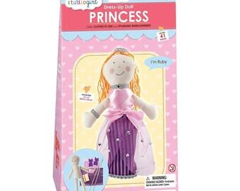 My Studio Girl: Dress-Up Doll Princess Ruby Sew Kit