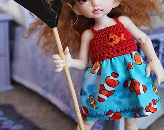 Realfee Crochet Dress