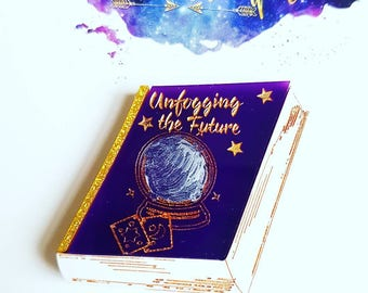 UNFOGGING THE FUTURE inspired book brooch