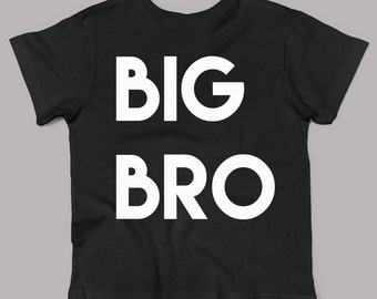 big bro shirt, big brother, brother shirt, gift for big brother, sibling shirts, new baby gift xz