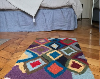 Moroccan rug wool. Shipping in France.