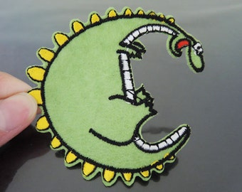 Iron On Patch - Dinosaurs Patches Animal Dinosaurs patch Applique embroidered patch Sew On Patch