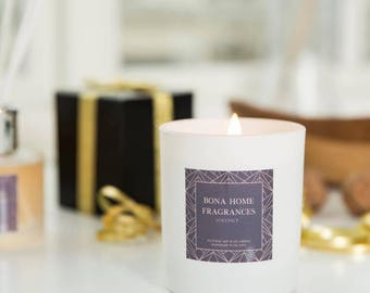 Luxury - Coconut soy wax candle