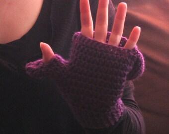 Cristine Flap Mittens - PDF Crochet Pattern