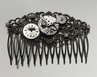 Large steampunk #4 comb