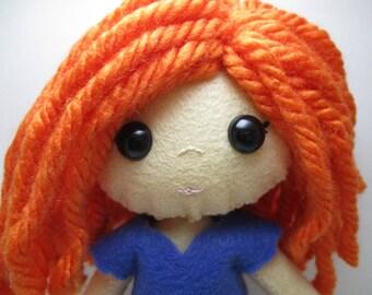 Celtic Plush Doll