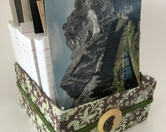 Perpetual Calendar Journal Box - Green•Mountain