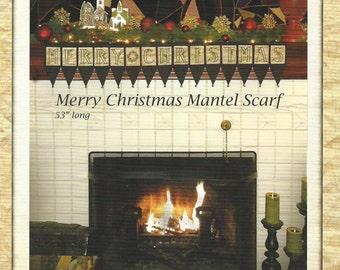 Kathy Schmitz Studio - Christmas Wish - Mantel Scarf - Embroidery Sewing Pattern