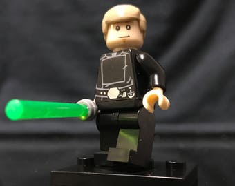 Jedi Luke Skywalker Star Wars Minifigure Custom Minifigures Return of the Jedi